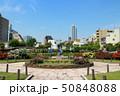 本郷給水所公苑のバラと東京ドームホテル(5月)東京都文京区 50848088