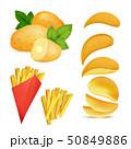 ジャガイモ ファースト 食のイラスト 50849886