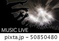 ライブ会場とオーディエンス 50850480