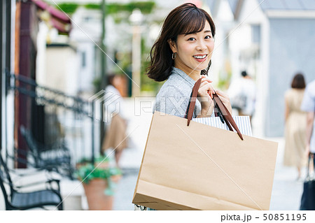 女性 主婦 ショッピング ライフスタイル 50851195