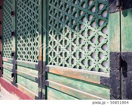 Gyeongbokgung Palace facade 50851904