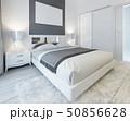 ベットルーム ベッドルーム 寝室のイラスト 50856628