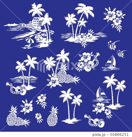 ビーチのイラスト素材, 50866251