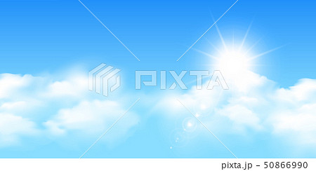 空 雲 風景 背景 50866990