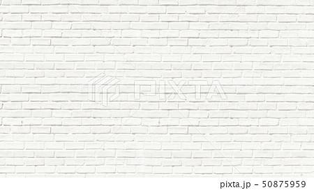 背景-煉瓦-白 50875959