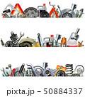 Vector Car Part Borders 50884337