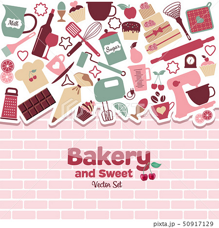 Bakery and sweets abstract illustration. 50917129