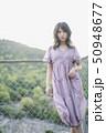 女性 ポートレート ワンピースの写真 50948677