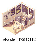 Vector isometric small coffeehouse 50952338
