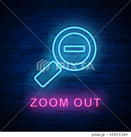 Vector illuminated neon light icon sign 50955384