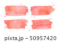 Watercolor brushstrokes banners collection 50957420