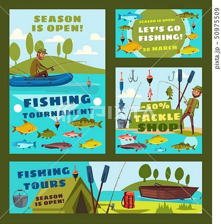 Fishing season sea tours, fisher tackles shop 50975509