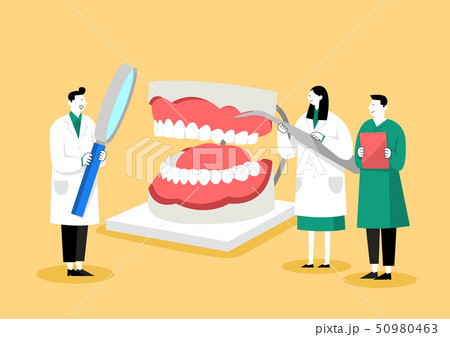 Medical check-up, health care concept vector illustration 001 50980463