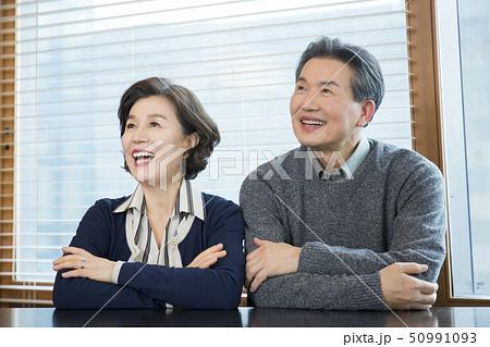 Portrait of senior couple 149 50991093