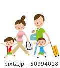 家族 旅行 観光のイラスト 50994018