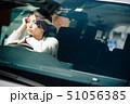 女性 車 自動車の写真 51056385