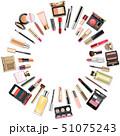 化粧品 メイクアップ 化粧のイラスト 51075243