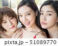女性 ビューティー 51089770
