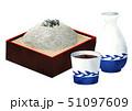 蕎麦 麺つゆ 日本料理のイラスト 51097609