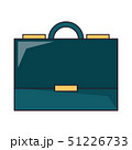 Business briefcase symbol isolated 51226733