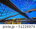 ブリッジ 橋 ブルーの写真 51226974