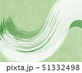 背景-和-和風-和柄-日本-和紙-筆-抹茶-緑 51332498
