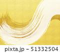 背景-和-和風-和柄-日本-和紙-筆-金-金箔 51332504