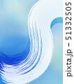 背景-和-和風-和柄-日本-和紙-筆-水色-夏-涼 51332505