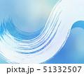 背景-和-和風-和柄-日本-和紙-筆-水色-夏-涼 51332507