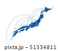 日本 日本地図 ビジネス 日本経済 貿易 テクノロジー 旅行 観光 51334811