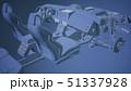車 自動車 エンジンのイラスト 51337928