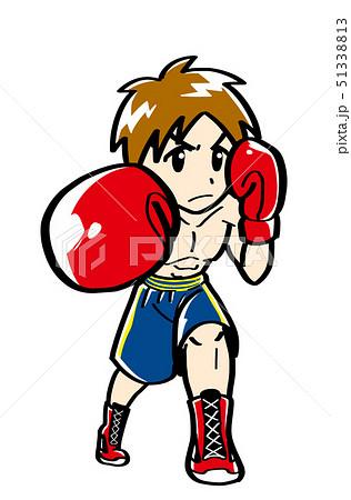 ボクシングのイラスト素材 51338813 Pixta