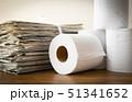 古紙回収 リサイクル 再利用 新聞紙 51341652