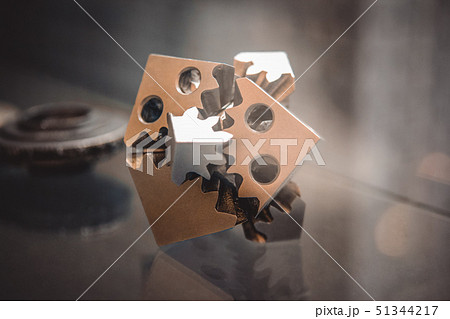 Object printed on metal 3d printer 51344217