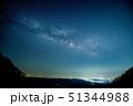 赤城山からの天の川、関東平野を臨んで 51344988