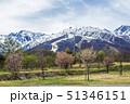 長野県 白馬村 風景 八方尾根 51346151