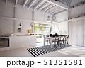 キッチン 厨房 台所のイラスト 51351581