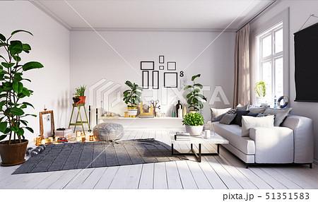 modern  living interior design. 51351583