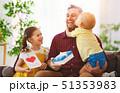 ファミリー 家庭 家族の写真 51353983