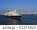 横浜港の客船にっぽん丸 51371924