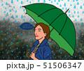 雨の日って嫌いじゃないわ 51506347
