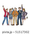さまざまな職業の若者 51517302