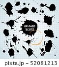墨 墨汁 インクのイラスト 52081213
