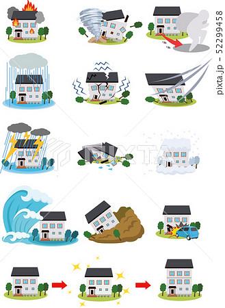 住宅 災害 保険 セット 52299458