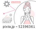 表皮 女性 メスのイラスト 52396361