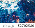abstract blue sea aerial view paint art background 52702580