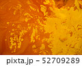 abstract tree crowns orange paint art background 52709289
