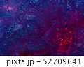 abstract blue purple cosmic paint art background 52709641