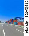 品川ふ頭_国際貨物コンテナ 52963429