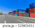 品川ふ頭_国際貨物コンテナ 52963431
